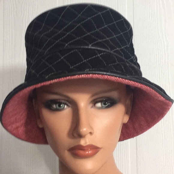 8a21a471e75 Summer Tompkins Leather Suede Bucket Hat. M 5c3cc9883c98449df823320f